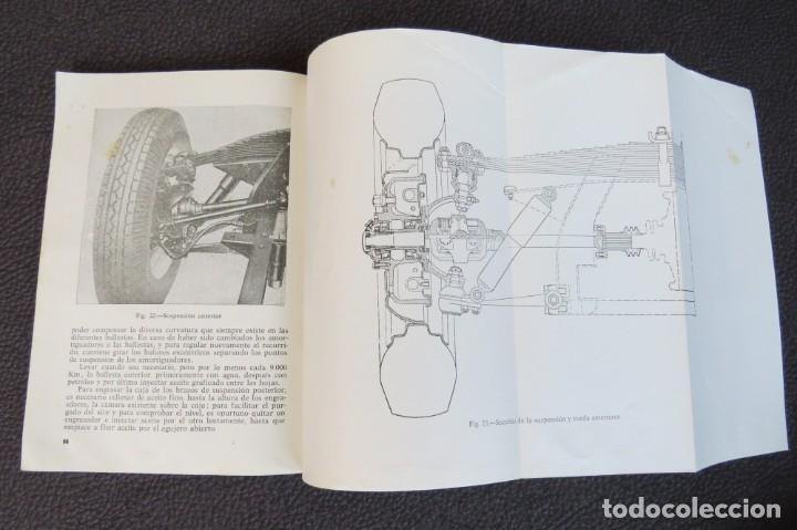 Coches y Motocicletas: MANUAL INSTRUCCIONES FURGONETA ROMEO. MOTOR PERKINS 4/99 - 1963 - Foto 12 - 163044794