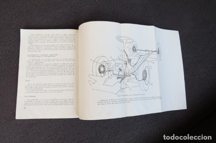 Coches y Motocicletas: MANUAL INSTRUCCIONES FURGONETA ROMEO. MOTOR PERKINS 4/99 - 1963 - Foto 13 - 163044794