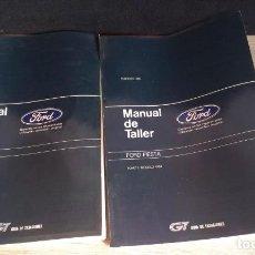 Coches y Motocicletas: FORD FIESTA - MANUAL DE TALLER Y GUÍA DE TASACIONES - 2 TOMOS - 1984. Lote 163195450