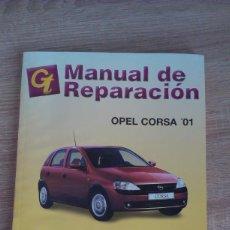 Coches y Motocicletas: MANUAL DE TALLER OPEL CORSA 01. Lote 163200318