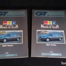 Coches y Motocicletas: MANUAL DE TALLER OPEL VECTRA 1990 - 2 TOMOS. Lote 163202646