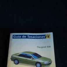 Coches y Motocicletas: MANUAL DE REPARACIÓN PEUGEOT 406. Lote 163210674