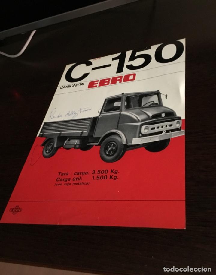 Coches y Motocicletas: Muy antiguo catálogo camión EBRO motor ibérica Totalmente original - Foto 4 - 163504854