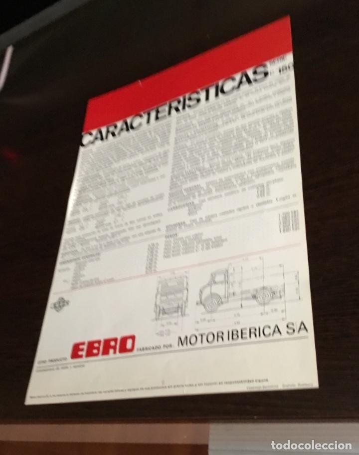 Coches y Motocicletas: Muy antiguo catálogo camión EBRO motor ibérica Totalmente original - Foto 7 - 163504854