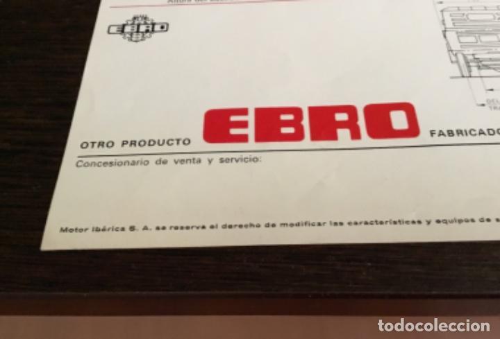 Coches y Motocicletas: Muy antiguo catálogo camión EBRO motor ibérica Totalmente original - Foto 10 - 163504854