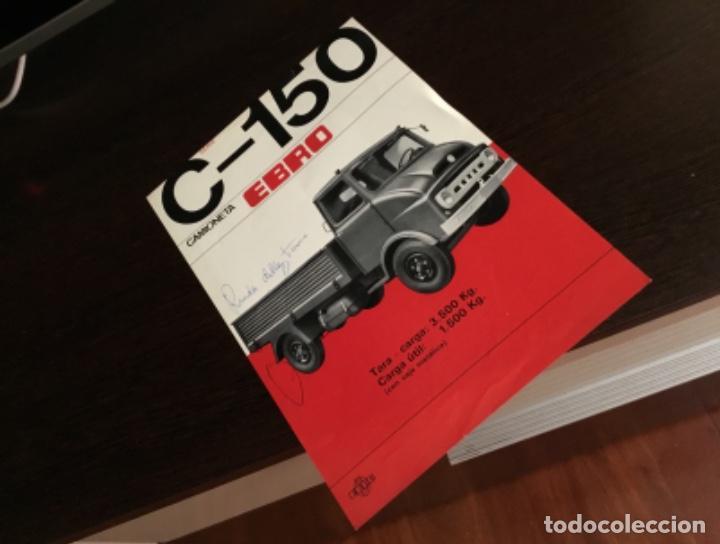 Coches y Motocicletas: Muy antiguo catálogo camión EBRO motor ibérica Totalmente original - Foto 11 - 163504854