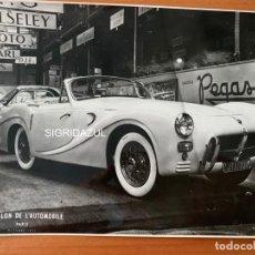 Coches y Motocicletas: PEGASO Z-102 SAOUTCHIK FOTO ARCHIVO FABRICA OFICINA ENASA MADRID. Lote 163935266