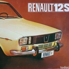 Coches y Motocicletas: CATÁLOGO RENAULT 12 FASA. Lote 163957492