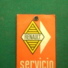 Coches y Motocicletas: SERVICIO CAMBIO DE ACEITE RENAULT 1967 -- PAMPLONA. Lote 164076658