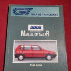 Coches y Motocicletas: GUIA DE TASACIONES MANUAL DE TALLER FIAT UNO MARZO 1996. Lote 164274698