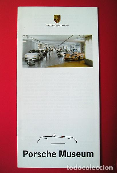 PORSCHE MUSEUM STUTTGART-ZUFFENHAUSEN - FOLLETO INFORMATIVO 1997 (Coches y Motocicletas Antiguas y Clásicas - Catálogos, Publicidad y Libros de mecánica)
