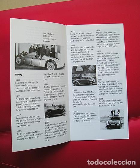 Coches y Motocicletas: Porsche Museum Stuttgart-Zuffenhausen - Folleto informativo 1997 - Foto 2 - 164283766