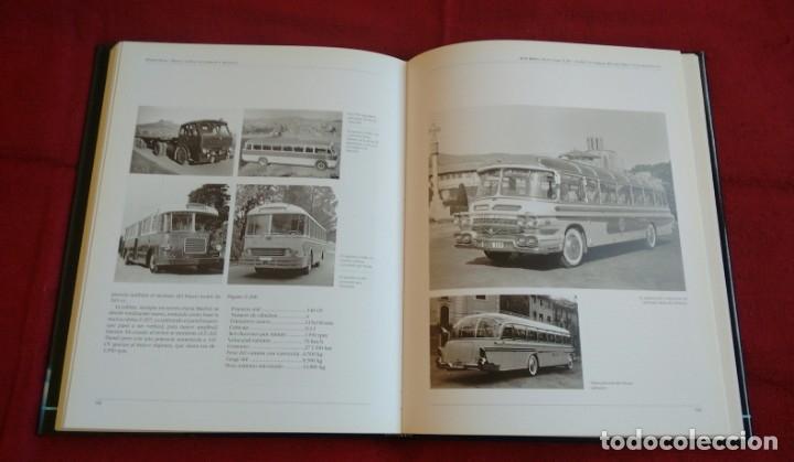Coches y Motocicletas: Libro Hispano Suiza/Pegaso. Un siglo de camiones y autobuses. Editorial Lunwerg 1995. - Foto 5 - 164433862