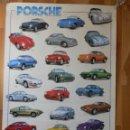 Coches y Motocicletas: POSTER PORSCHE PINO AVONTO COPYRIGHT 1995 BY NUOVA ARTI GRAFICHE RICORDLS MILANO PRINTED IN ITALY. Lote 164595990