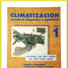 Coches y Motocicletas: LIBRO CLIMATIZACION TOMO 1 CLIM - MANUAL DIAGNOSTICO Y REPARACION - ANETO - ETAI. Lote 60948055