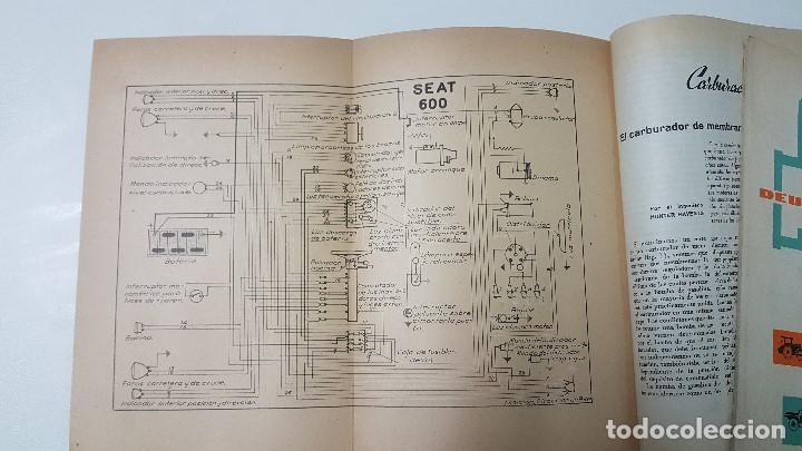 Coches y Motocicletas: ELECTRO-DIESEL- Nº 13 - JULIO 1961 -CITROEN AMI- 6- LEYLAND COMET - ENCARTES SEAT 600, FIAT COID 45 - Foto 4 - 164761594