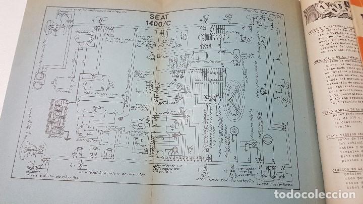 Coches y Motocicletas: ELECTRO-DIESEL- Nº 16 - OCTUBR 1961 -FIAT 1300- MOTOR MAN D1048M - ENCARTES SEAT 1400 - Foto 3 - 164763970
