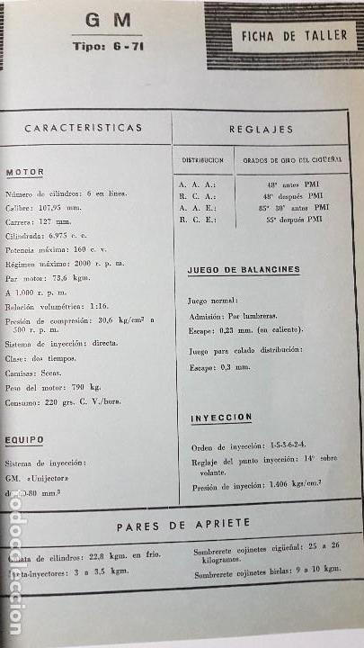 Coches y Motocicletas: ELECTRO-DIESEL- Nº 21 - MARZO 1962- EL GRAN BORGWARD- ENCARTES FIAT 500 - Foto 4 - 164872826