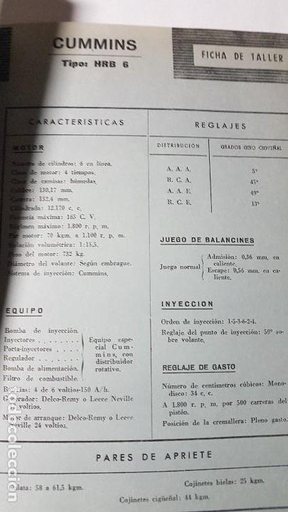 Coches y Motocicletas: ELECTRO-DIESEL- Nº 23- MAYO 1962- EL FIAT ABARTH 850 -CUMMINS HRB6 - ENCARTES CAMION BERLIET - Foto 2 - 164873254