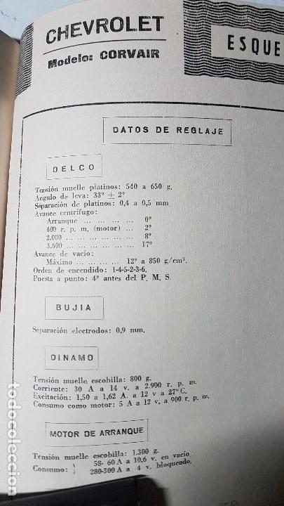 Coches y Motocicletas: ELECTRO-DIESEL- Nº 24 - JUNIO 1962- AUSTIN A40 MK II -HENSCHEL - ENCARTES CHEVROLET CORVAIR - Foto 3 - 164873414