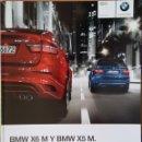 Coches y Motocicletas: CATÁLOGO BMW X5 M Y X6 M. 2009. EN ESPAÑOL. Lote 164982758