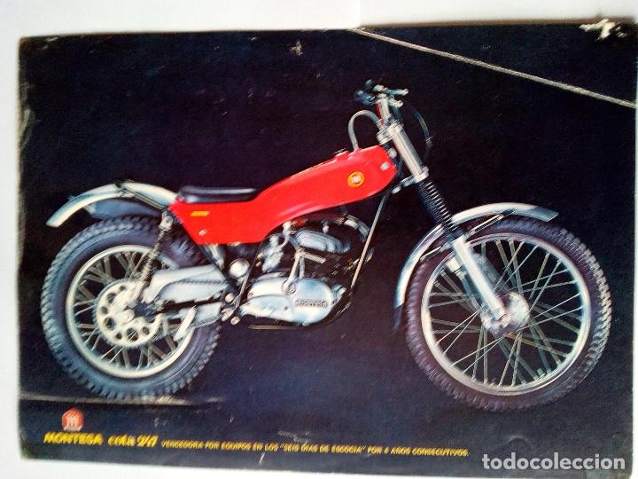 FOLLETO ORIGINAL DE LA MOTOCICLETA MONTESA COTA 247-CON LAS CARACTERISTICAS TECNICAS-6 PAG (Coches y Motocicletas Antiguas y Clásicas - Catálogos, Publicidad y Libros de mecánica)