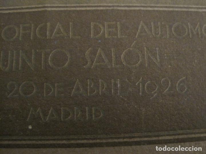 Coches y Motocicletas: ALBUM DE ORO-EXPOSICION OFICIAL DEL AUTOMOVIL MADRID 1926-PUBLICIDAD COCHES-VER FOTOS-(V-17.031) - Foto 4 - 165085594