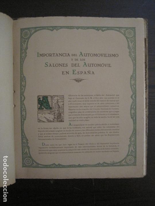 Coches y Motocicletas: ALBUM DE ORO-EXPOSICION OFICIAL DEL AUTOMOVIL MADRID 1926-PUBLICIDAD COCHES-VER FOTOS-(V-17.031) - Foto 15 - 165085594