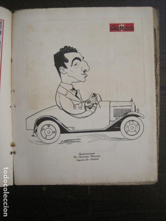 Coches y Motocicletas: ALBUM DE ORO-EXPOSICION OFICIAL DEL AUTOMOVIL MADRID 1926-PUBLICIDAD COCHES-VER FOTOS-(V-17.031) - Foto 20 - 165085594