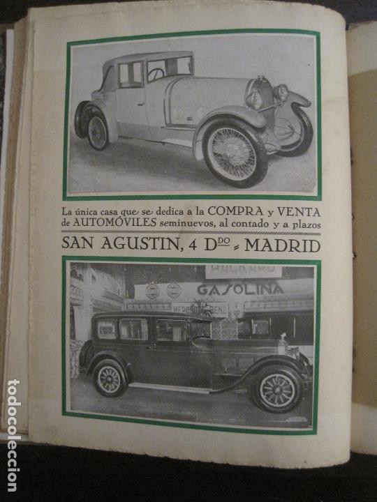 Coches y Motocicletas: ALBUM DE ORO-EXPOSICION OFICIAL DEL AUTOMOVIL MADRID 1926-PUBLICIDAD COCHES-VER FOTOS-(V-17.031) - Foto 23 - 165085594