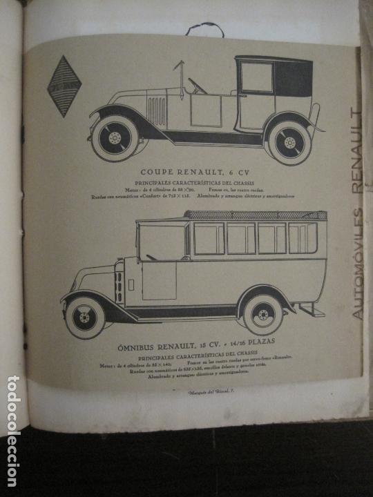 Coches y Motocicletas: ALBUM DE ORO-EXPOSICION OFICIAL DEL AUTOMOVIL MADRID 1926-PUBLICIDAD COCHES-VER FOTOS-(V-17.031) - Foto 24 - 165085594