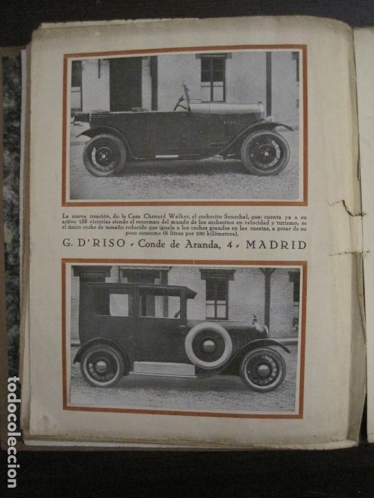 Coches y Motocicletas: ALBUM DE ORO-EXPOSICION OFICIAL DEL AUTOMOVIL MADRID 1926-PUBLICIDAD COCHES-VER FOTOS-(V-17.031) - Foto 28 - 165085594