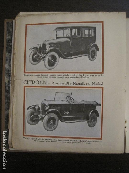 Coches y Motocicletas: ALBUM DE ORO-EXPOSICION OFICIAL DEL AUTOMOVIL MADRID 1926-PUBLICIDAD COCHES-VER FOTOS-(V-17.031) - Foto 30 - 165085594