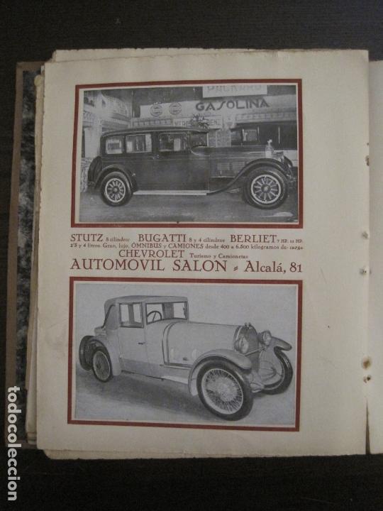 Coches y Motocicletas: ALBUM DE ORO-EXPOSICION OFICIAL DEL AUTOMOVIL MADRID 1926-PUBLICIDAD COCHES-VER FOTOS-(V-17.031) - Foto 32 - 165085594