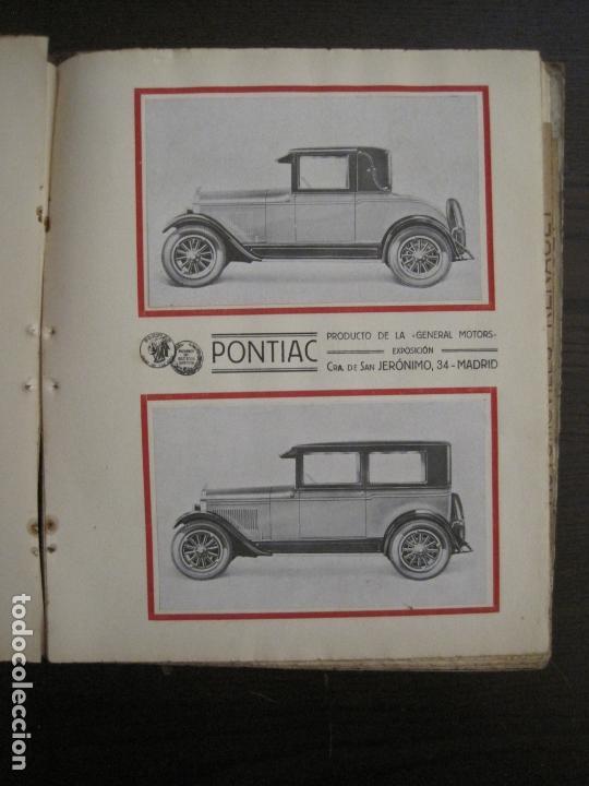 Coches y Motocicletas: ALBUM DE ORO-EXPOSICION OFICIAL DEL AUTOMOVIL MADRID 1926-PUBLICIDAD COCHES-VER FOTOS-(V-17.031) - Foto 33 - 165085594
