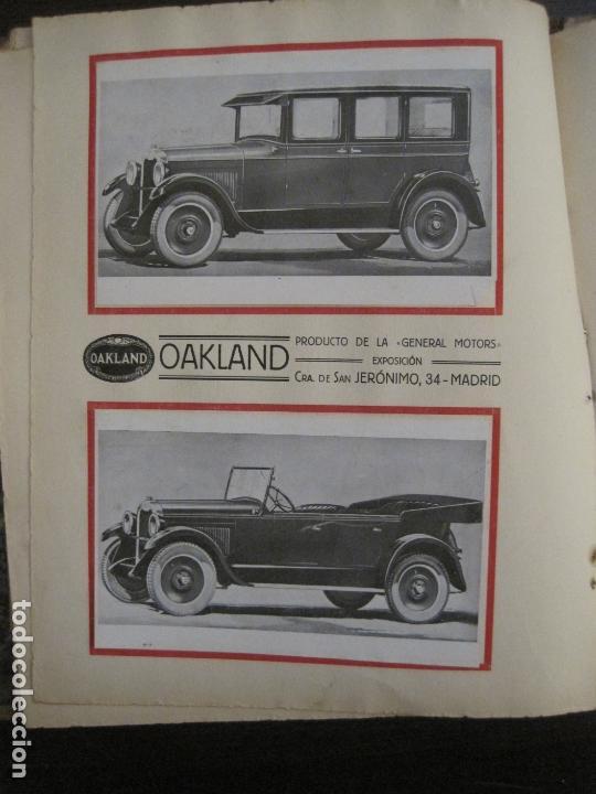 Coches y Motocicletas: ALBUM DE ORO-EXPOSICION OFICIAL DEL AUTOMOVIL MADRID 1926-PUBLICIDAD COCHES-VER FOTOS-(V-17.031) - Foto 34 - 165085594
