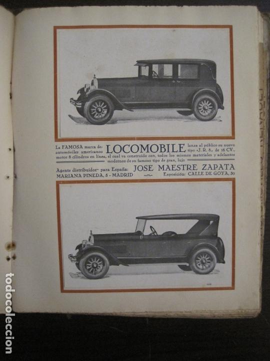 Coches y Motocicletas: ALBUM DE ORO-EXPOSICION OFICIAL DEL AUTOMOVIL MADRID 1926-PUBLICIDAD COCHES-VER FOTOS-(V-17.031) - Foto 35 - 165085594