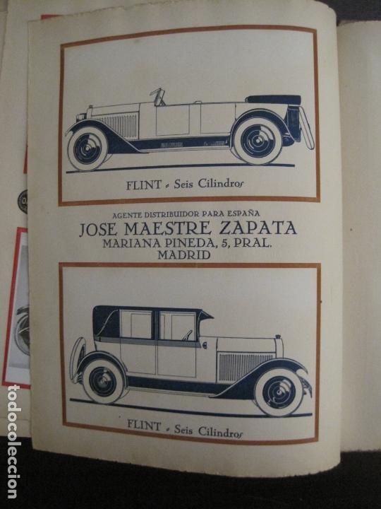 Coches y Motocicletas: ALBUM DE ORO-EXPOSICION OFICIAL DEL AUTOMOVIL MADRID 1926-PUBLICIDAD COCHES-VER FOTOS-(V-17.031) - Foto 36 - 165085594