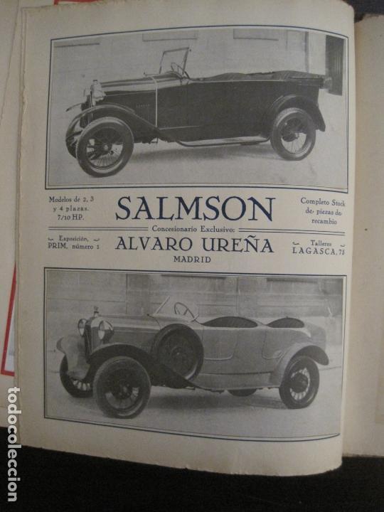 Coches y Motocicletas: ALBUM DE ORO-EXPOSICION OFICIAL DEL AUTOMOVIL MADRID 1926-PUBLICIDAD COCHES-VER FOTOS-(V-17.031) - Foto 38 - 165085594