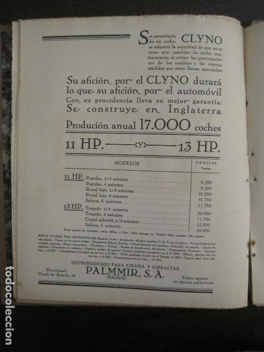 Coches y Motocicletas: ALBUM DE ORO-EXPOSICION OFICIAL DEL AUTOMOVIL MADRID 1926-PUBLICIDAD COCHES-VER FOTOS-(V-17.031) - Foto 40 - 165085594
