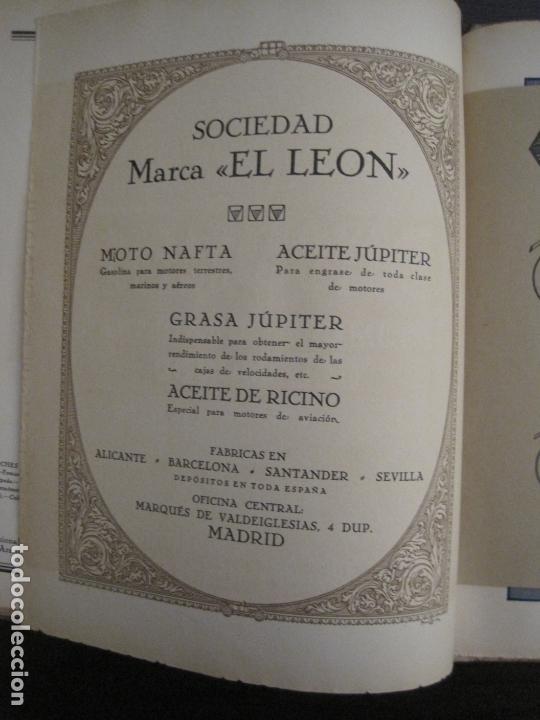 Coches y Motocicletas: ALBUM DE ORO-EXPOSICION OFICIAL DEL AUTOMOVIL MADRID 1926-PUBLICIDAD COCHES-VER FOTOS-(V-17.031) - Foto 42 - 165085594
