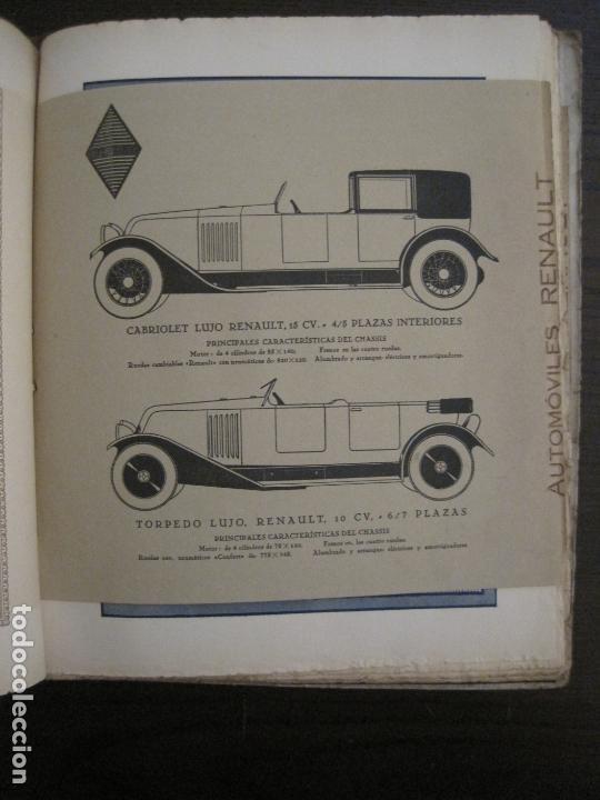 Coches y Motocicletas: ALBUM DE ORO-EXPOSICION OFICIAL DEL AUTOMOVIL MADRID 1926-PUBLICIDAD COCHES-VER FOTOS-(V-17.031) - Foto 43 - 165085594