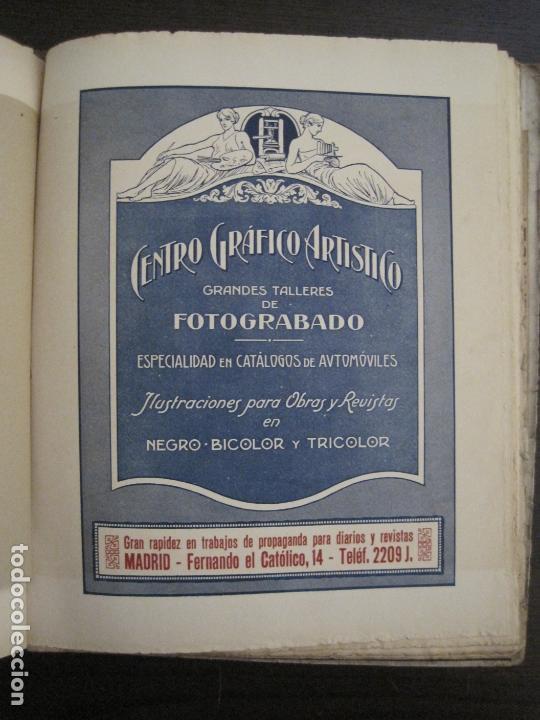 Coches y Motocicletas: ALBUM DE ORO-EXPOSICION OFICIAL DEL AUTOMOVIL MADRID 1926-PUBLICIDAD COCHES-VER FOTOS-(V-17.031) - Foto 44 - 165085594