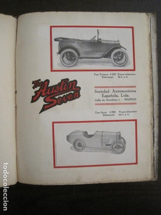 Coches y Motocicletas: ALBUM DE ORO-EXPOSICION OFICIAL DEL AUTOMOVIL MADRID 1926-PUBLICIDAD COCHES-VER FOTOS-(V-17.031) - Foto 52 - 165085594