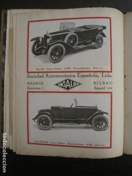 Coches y Motocicletas: ALBUM DE ORO-EXPOSICION OFICIAL DEL AUTOMOVIL MADRID 1926-PUBLICIDAD COCHES-VER FOTOS-(V-17.031) - Foto 53 - 165085594