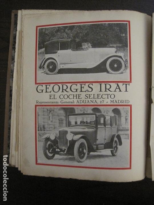 Coches y Motocicletas: ALBUM DE ORO-EXPOSICION OFICIAL DEL AUTOMOVIL MADRID 1926-PUBLICIDAD COCHES-VER FOTOS-(V-17.031) - Foto 55 - 165085594