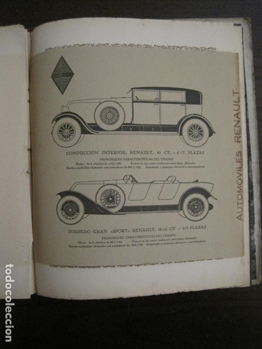 Coches y Motocicletas: ALBUM DE ORO-EXPOSICION OFICIAL DEL AUTOMOVIL MADRID 1926-PUBLICIDAD COCHES-VER FOTOS-(V-17.031) - Foto 58 - 165085594