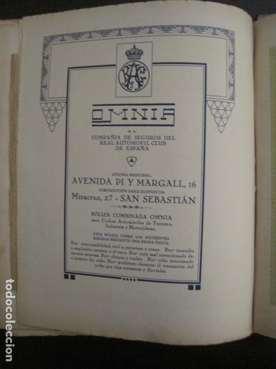 Coches y Motocicletas: ALBUM DE ORO-EXPOSICION OFICIAL DEL AUTOMOVIL MADRID 1926-PUBLICIDAD COCHES-VER FOTOS-(V-17.031) - Foto 61 - 165085594