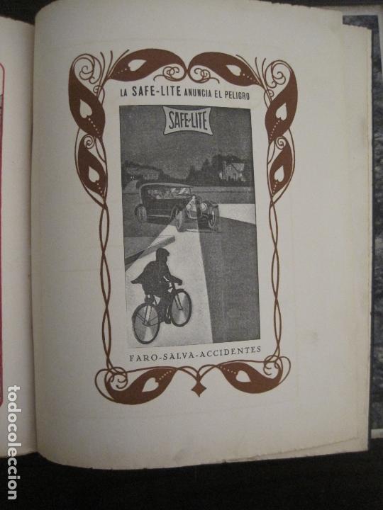 Coches y Motocicletas: ALBUM DE ORO-EXPOSICION OFICIAL DEL AUTOMOVIL MADRID 1926-PUBLICIDAD COCHES-VER FOTOS-(V-17.031) - Foto 65 - 165085594
