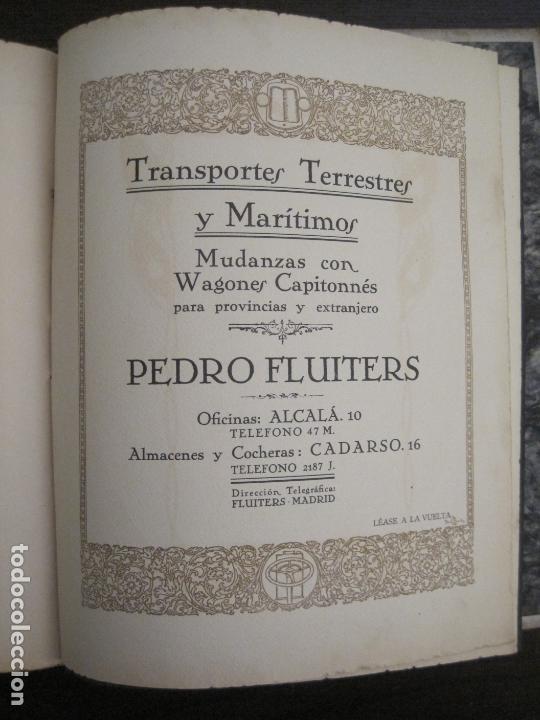 Coches y Motocicletas: ALBUM DE ORO-EXPOSICION OFICIAL DEL AUTOMOVIL MADRID 1926-PUBLICIDAD COCHES-VER FOTOS-(V-17.031) - Foto 67 - 165085594